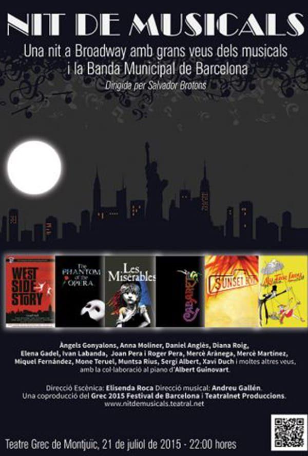 Nit de Musicals: Una Nit a Broadway