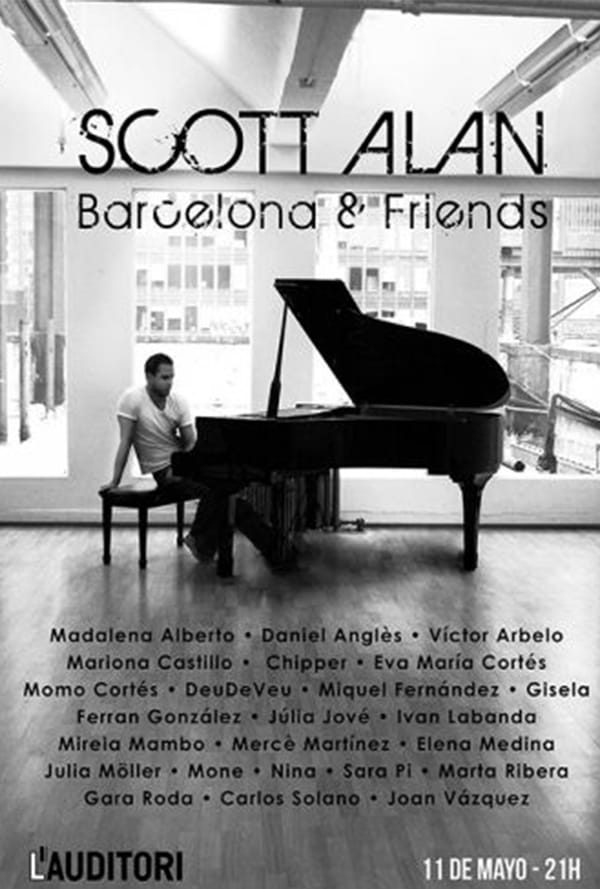 Scott Alan: Barcelona & Friends